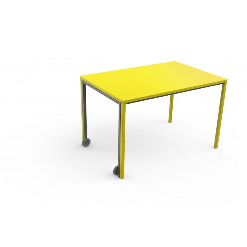 tables rafale mati re grise d coration. Black Bedroom Furniture Sets. Home Design Ideas