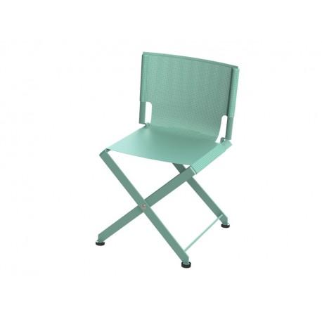 chaise pliante zephir mati re grise d coration. Black Bedroom Furniture Sets. Home Design Ideas