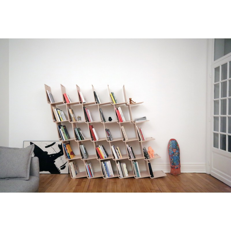 Biblioth que modulaire l objet optimis for Meuble bibliotheque modulaire