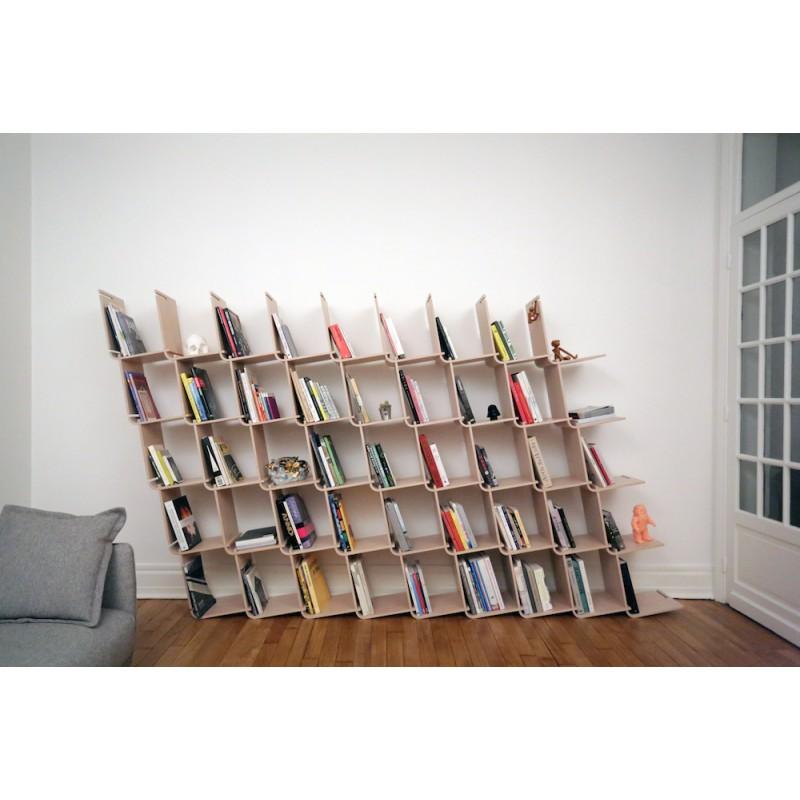 biblioth que modulaire l objet optimis. Black Bedroom Furniture Sets. Home Design Ideas