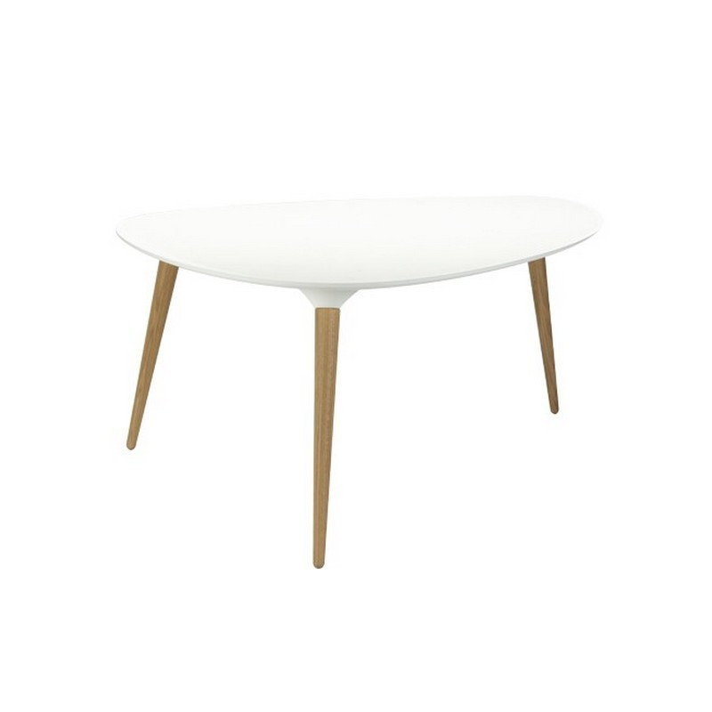 Grande table basse icicle triangulaire fredericia - Table basse grande ...