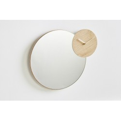 Miroir-horloge Timewatch