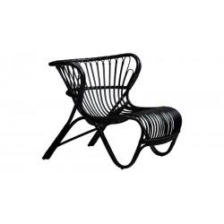 Fauteuil Fox Viggo Boesen en rotin Sika Design