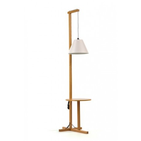 Lampadaire Avec Tablette Floor Woodman