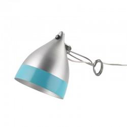 Lampe Cornette à pincer bicolore