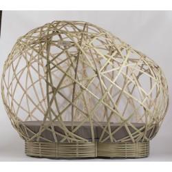 Cocon Igloo en bambou Déambulons