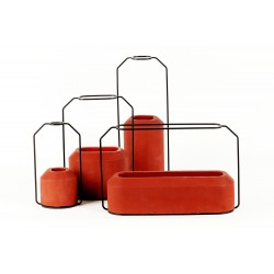Vase Weight rouge
