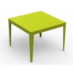 Table carrée Zef 100x100cm Matière Grise