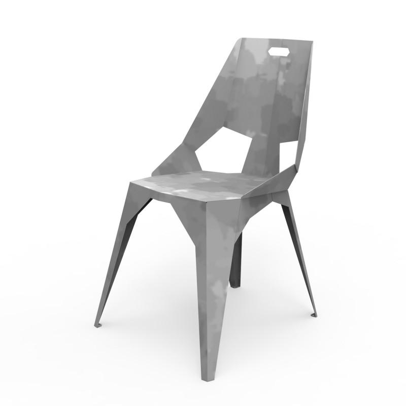 chaise plexus dossier haut zhed. Black Bedroom Furniture Sets. Home Design Ideas