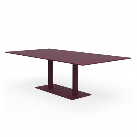 Table rectangulaire Hexagone