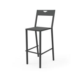 Chaise de bar Métropolitain Zhed