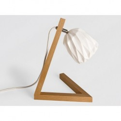 Lampe à poser Fluid wood