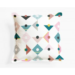 Coussins Tangram Mademoiselle Dimanche