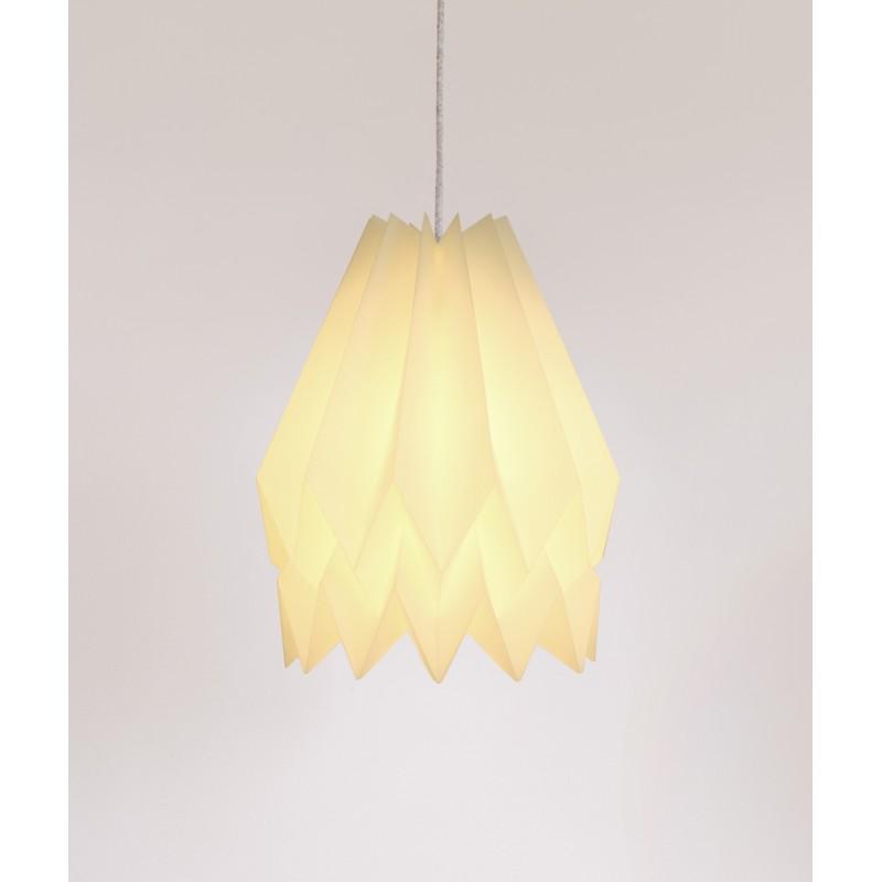 lampe origami plain orikomi. Black Bedroom Furniture Sets. Home Design Ideas