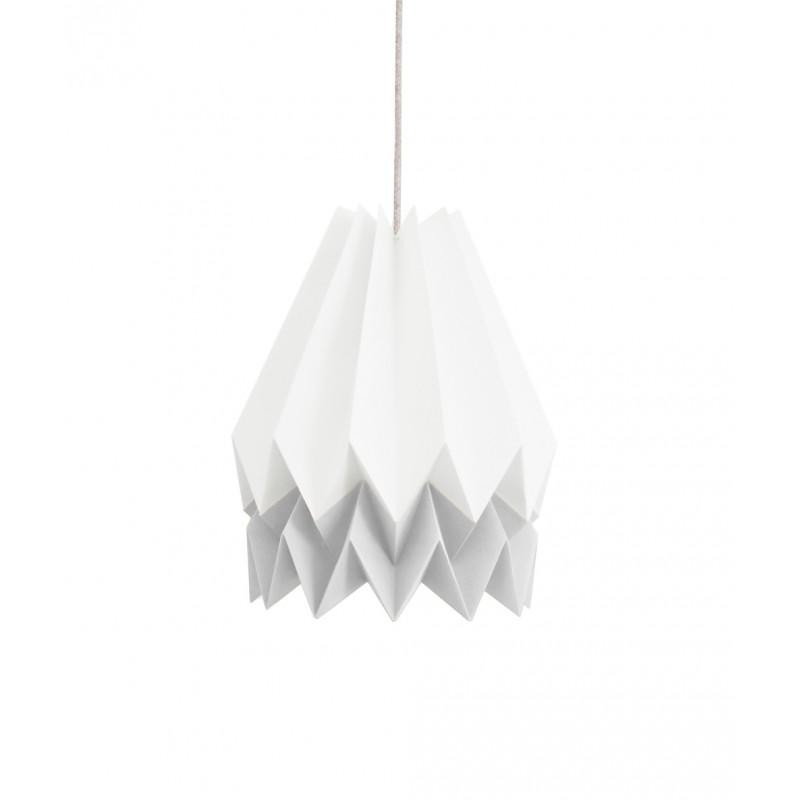 lampe origami stripe orikomi. Black Bedroom Furniture Sets. Home Design Ideas