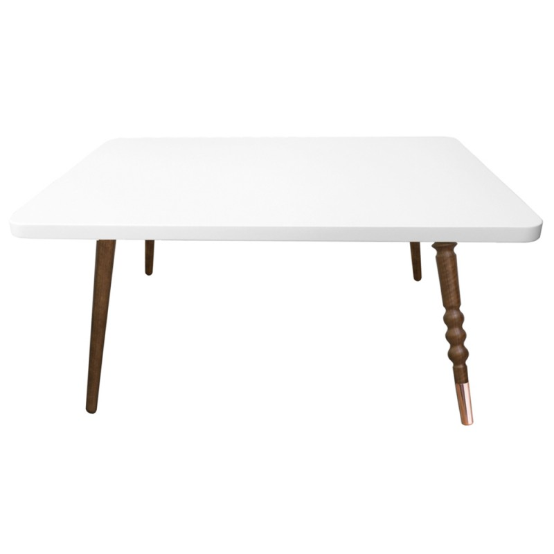 Table basse my lovely ballerine 70 50 noyer jungle by jungle for Table basse scandinave noyer