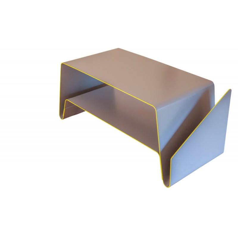 Table basse v le point d - Table basse peinte ...