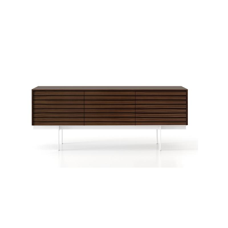 buffet 2 portes 2 tiroirs sussex punt. Black Bedroom Furniture Sets. Home Design Ideas