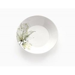 Assiette creuse Nordic Stories verte