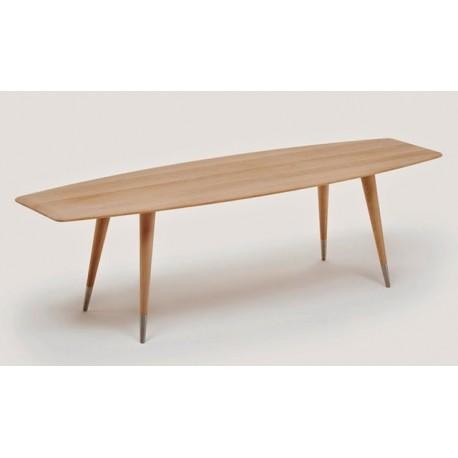 Table basse tonneau point naver - Table basse peinte ...