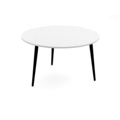 Table Basse Blanche Ronde.Petite Table Basse Ronde Soho