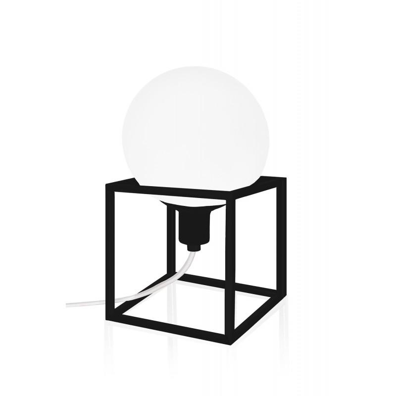 lampe poser cube globen lighting. Black Bedroom Furniture Sets. Home Design Ideas