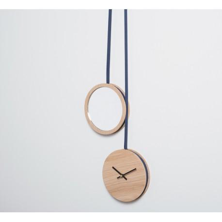 Miroir-Horloge Pendule DRUGEOT LABO