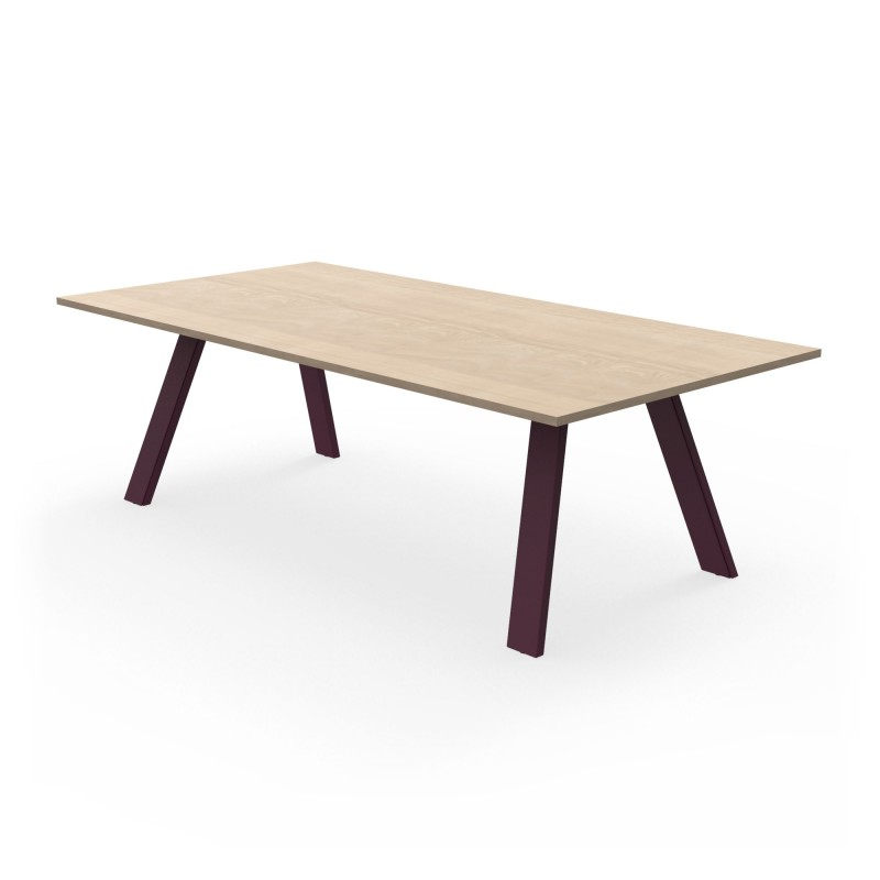 table de repas treto zhed. Black Bedroom Furniture Sets. Home Design Ideas