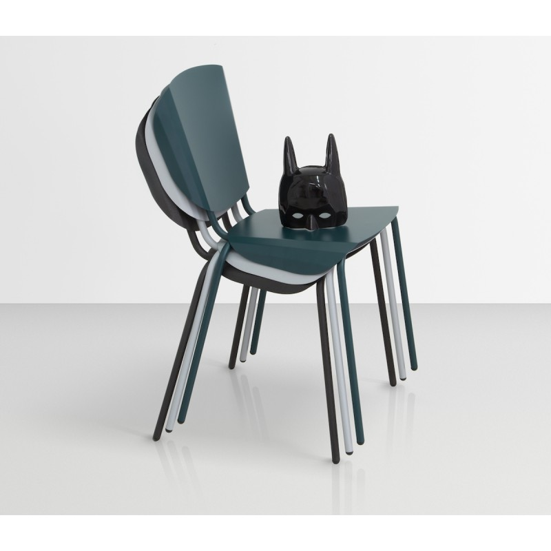 chaise batchair mati re grise d coration. Black Bedroom Furniture Sets. Home Design Ideas