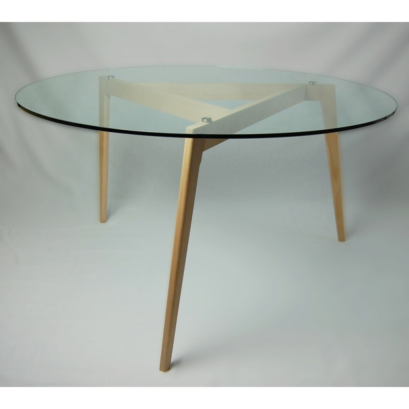 table de repas faustine gormandesign. Black Bedroom Furniture Sets. Home Design Ideas