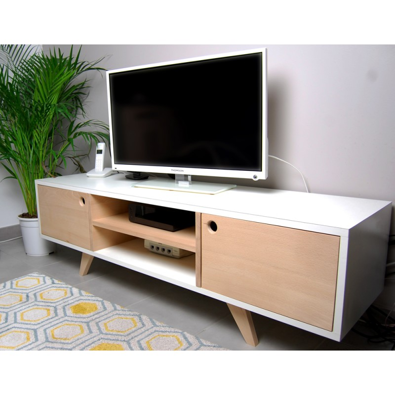 meuble tv antoine gormandesign. Black Bedroom Furniture Sets. Home Design Ideas