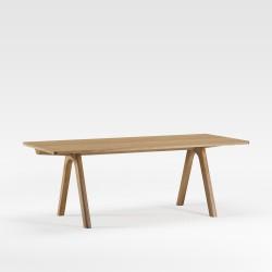 Table Chevron 140x90x75 cm DASRAS