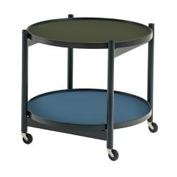 Table roulante Tray hêtre noir 60 cm BRDR KRUGER