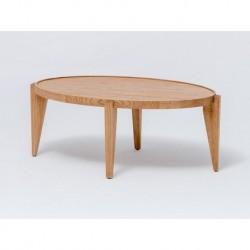 Table basse ovale Bontri