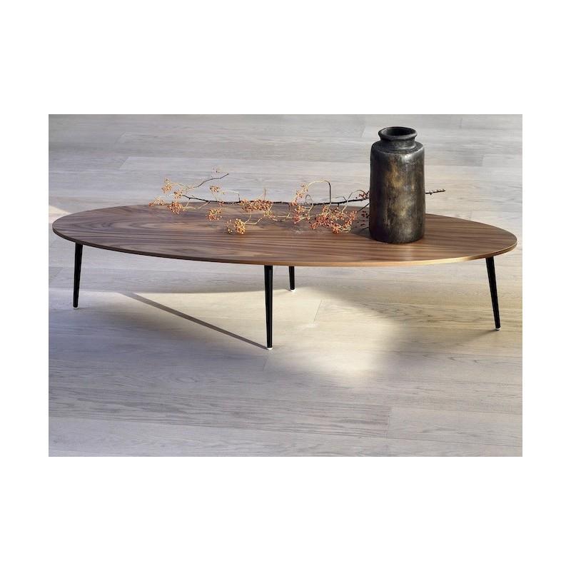 table basse ovale soho co dition. Black Bedroom Furniture Sets. Home Design Ideas