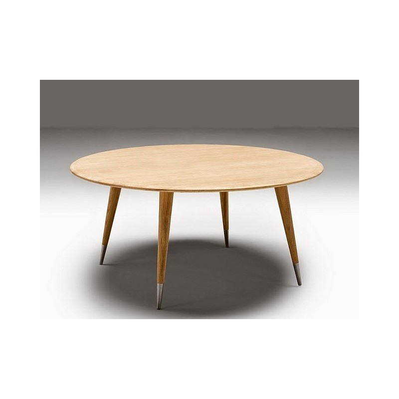 Table basse ronde point naver - Table basse peinte ...