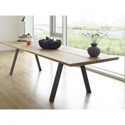 Table de repas extensible Plank