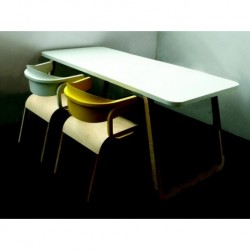 Table de repas ou de bureau Perch
