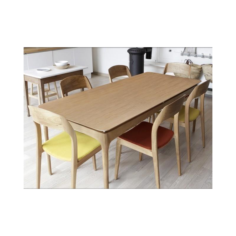 table de repas fifties red edition. Black Bedroom Furniture Sets. Home Design Ideas