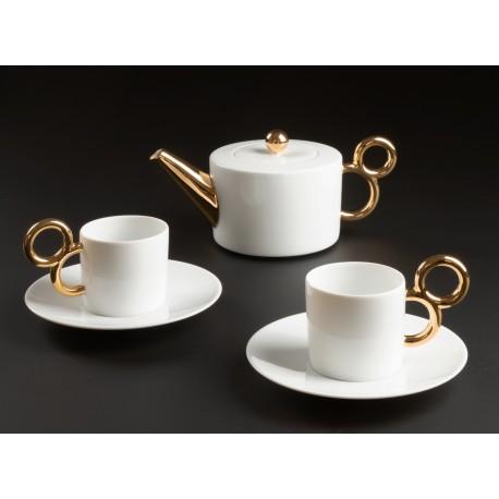 Service à thé Maniériste