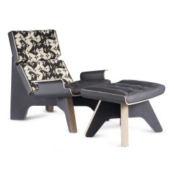 Fauteuil lounge Turtle WOHAbeing