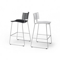 Chaise de bar Léopard