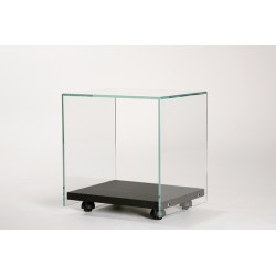 Table d'appoint sur roulettes Side ADENTRO