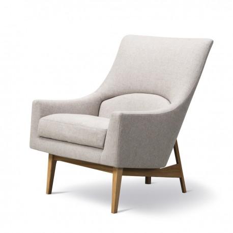 Fauteuil A-Chair chêne verni, tissu Sunniva 2 717
