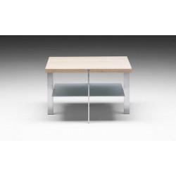 Table basse carrée Link étagère NAVER