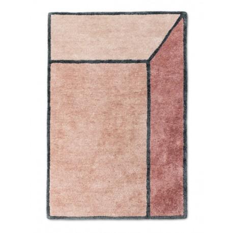 Tapis Illusion terracotta