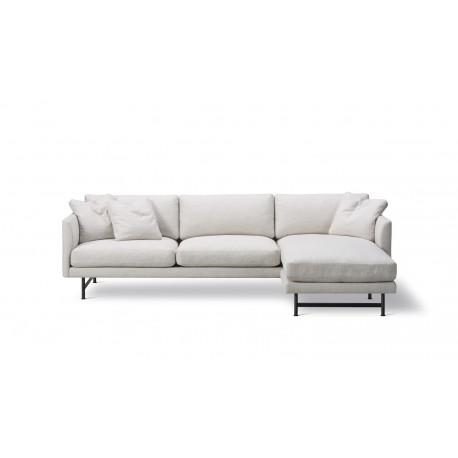Canapé 3 places + méridienne Calmo tissu Ruskin 10