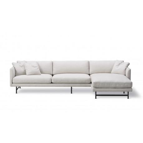 Canapé 3 places + méridienne Calmo 295 pieds métal FREDERICIA
