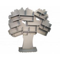 Bibliothèque Tess gris ciment