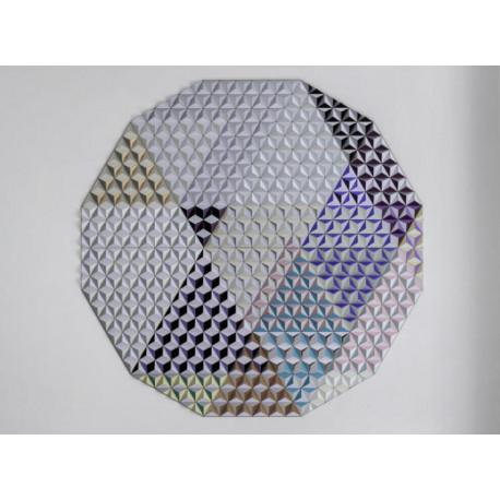 Tableau hexagonal mural HIS-3 Jupiter